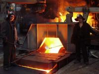 The Blast Furnace № 2, furnace workers assay of iron